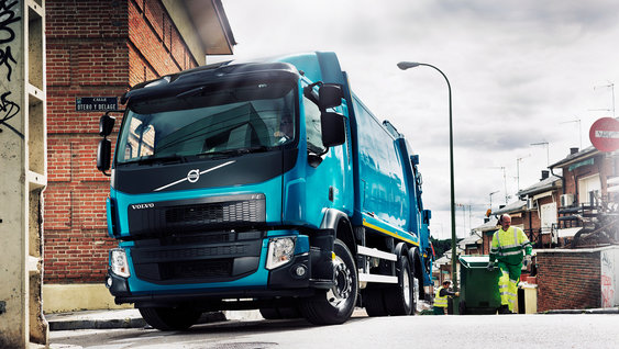 Volvo FE: helping to protect all road users
