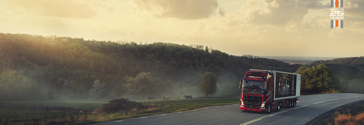 Volvo FH 25 Year Special Edition in fram landscape
