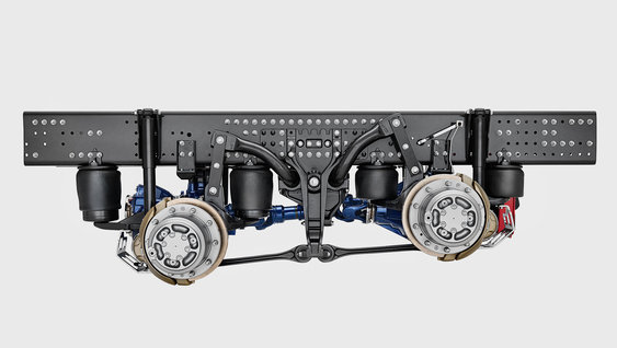 Volvo Trucks tandem axle lift