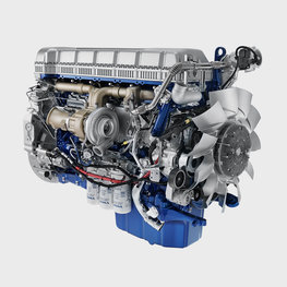The fuel-efficient Euro 5 Volvo diesel engines