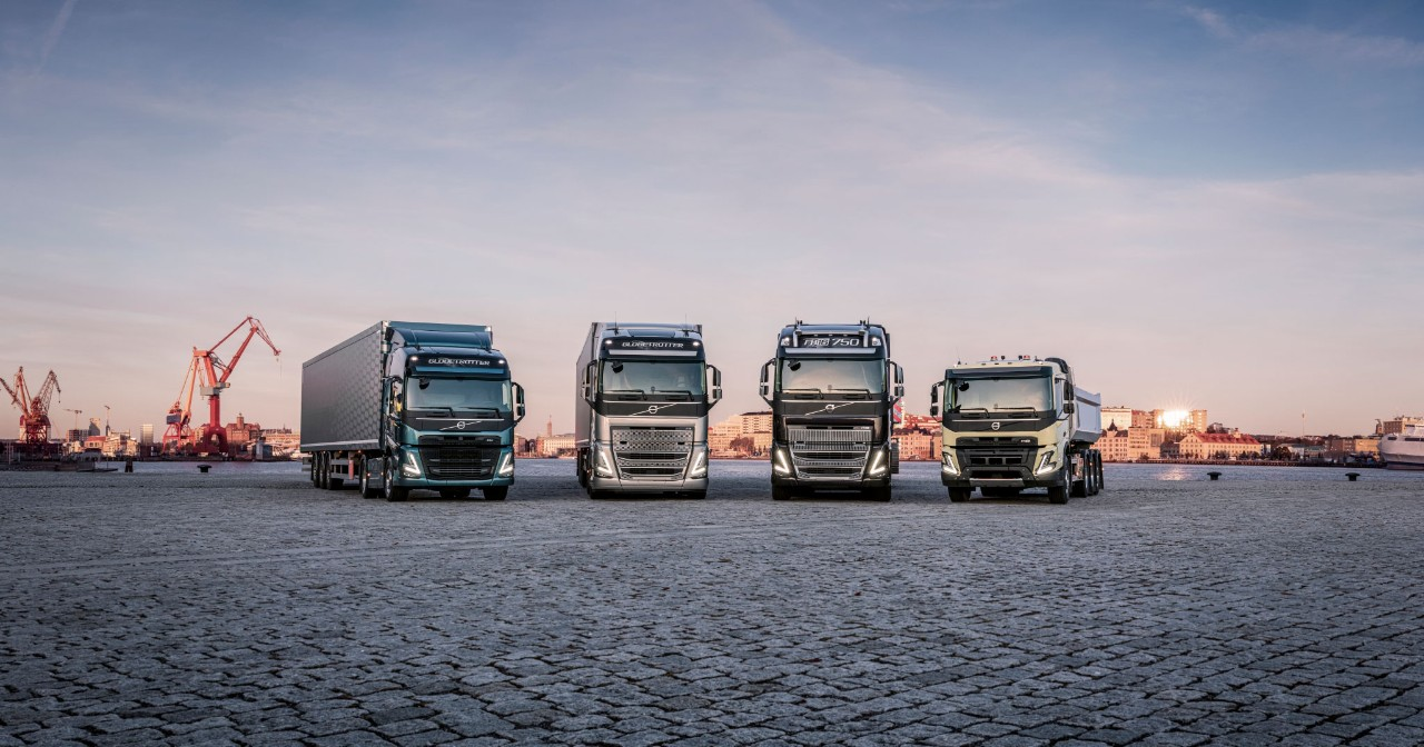 Volvo Trucks' latest heavy duty truck range