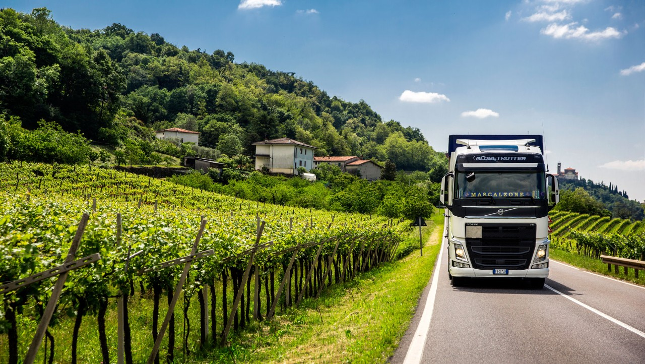 Sartori Trasporti operates in Italy and primarily drives between the province of Vicenza, where its headquarters is located, and Tuscany, where it delivers goods to its customers.