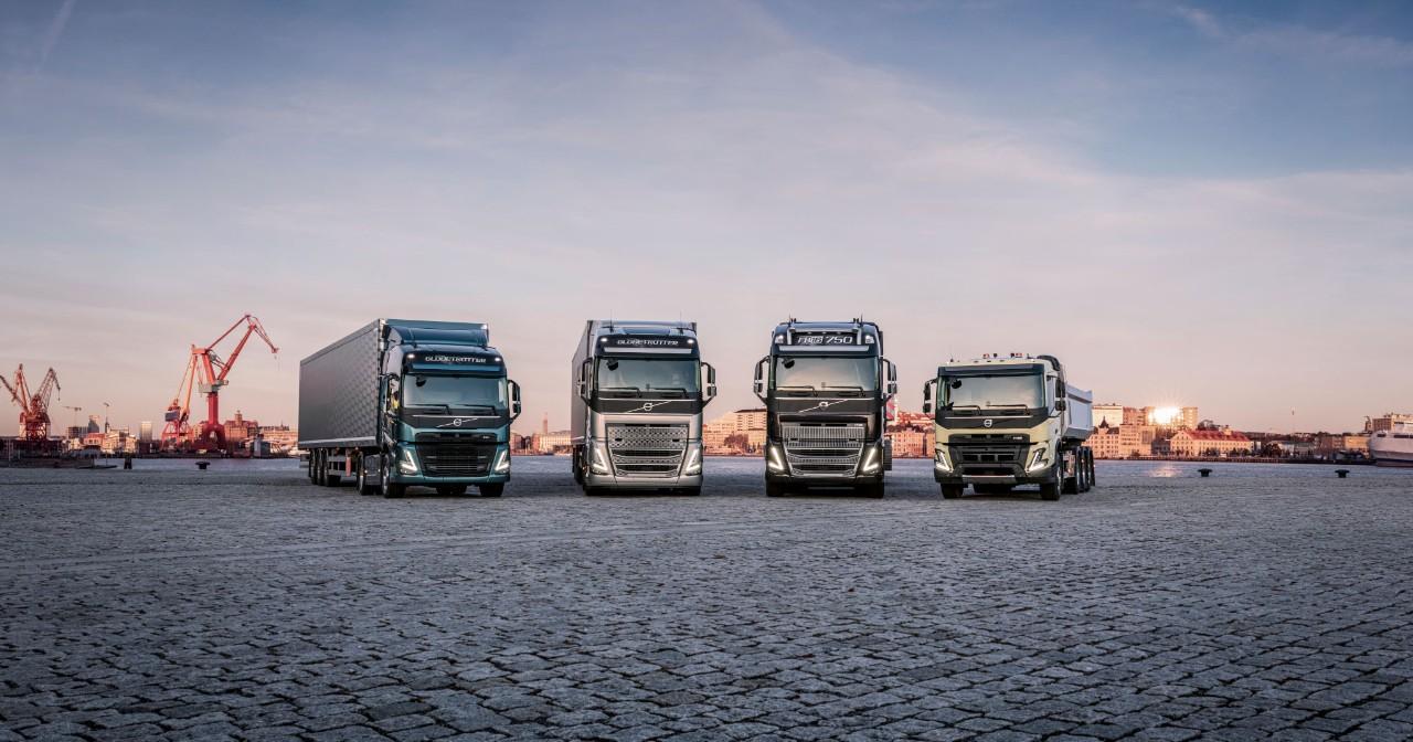Volvo Trucks' latest heavy duty truck range