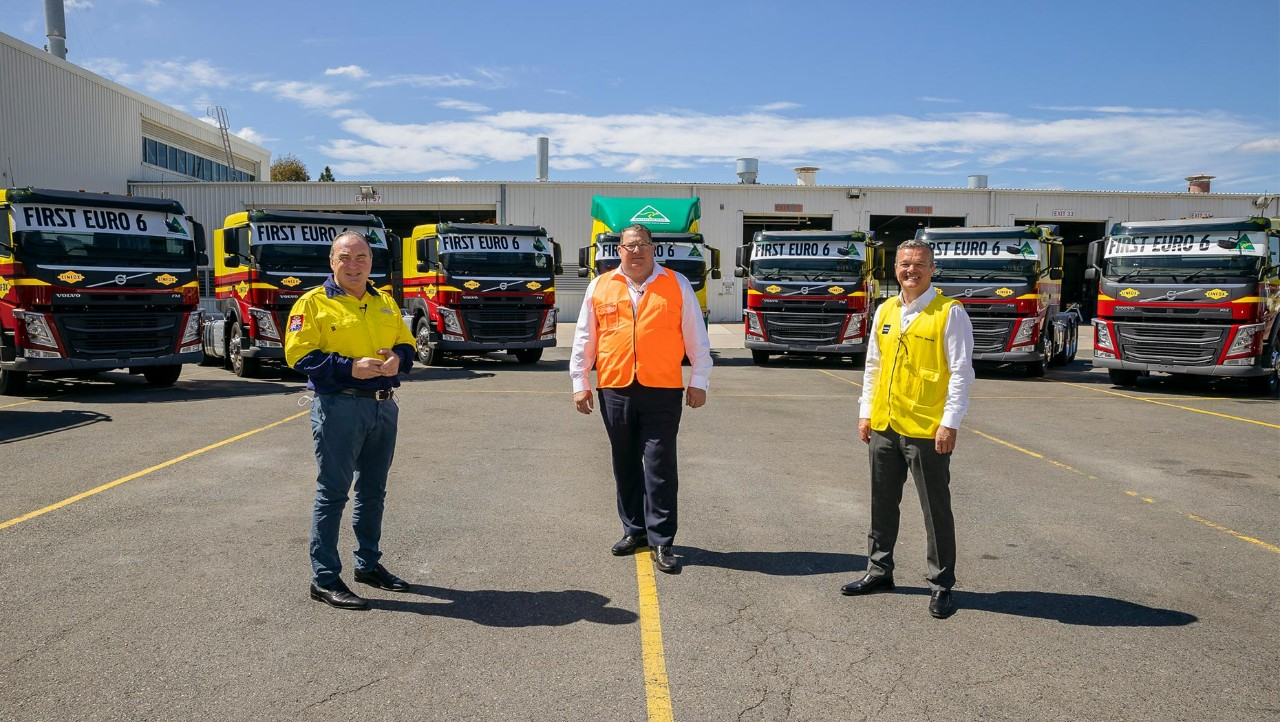 The first locally manufactured Euro 6 Volvo FM prime movers have started to roll off the Volvo Group Australia Wacol assembly line this month.