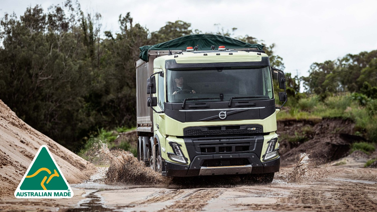 Volvo FMX – Delivers on and off the road.