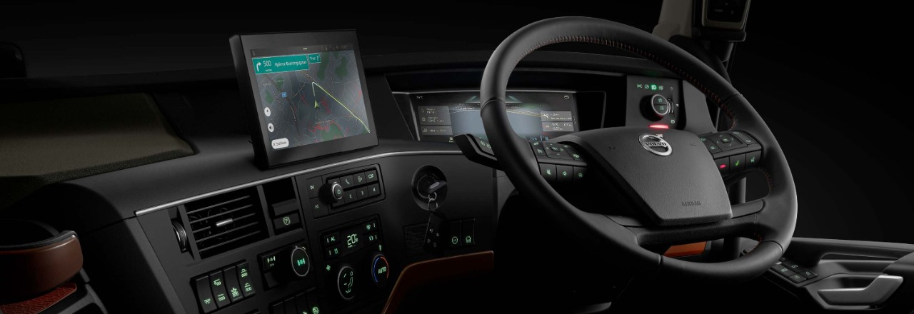 The driver interface is as adaptable and flexible as the rest of your truck.