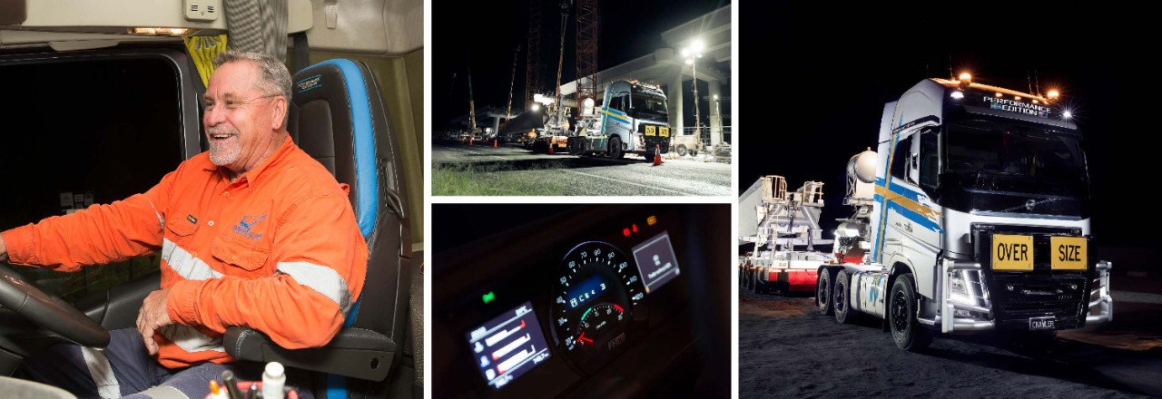 Ian Robertson enjoys the comfort and power of the Volvo FH16.