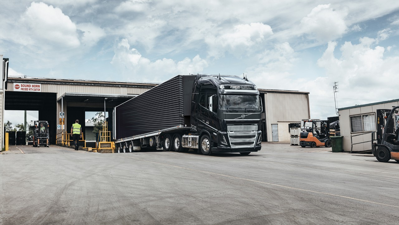 The evolution for tough demands brings you the Volvo FH16.