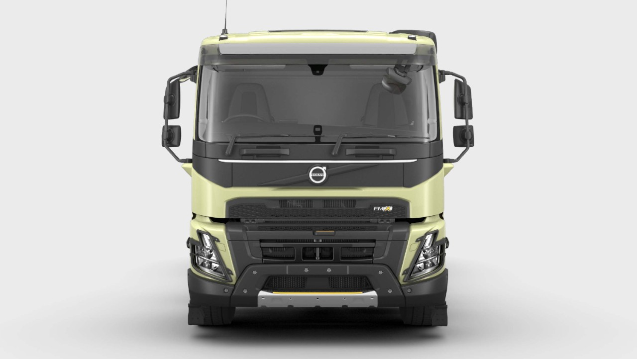 Explore the Volvo FMX exterior in the Volvo Truck Builder.