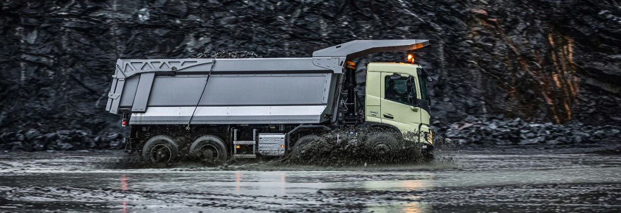 Volvo FMX extreme stability