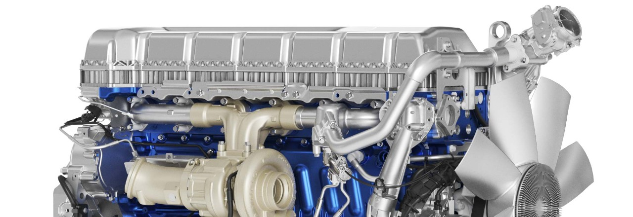 The Volvo FMX is available with eight engines.
